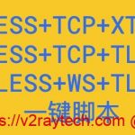 V2ray多合一脚本,支持VMESS+websocket+TLS+Nginx、VLESS+TCP+XTLS、VLESS+TCP+TLS等组合