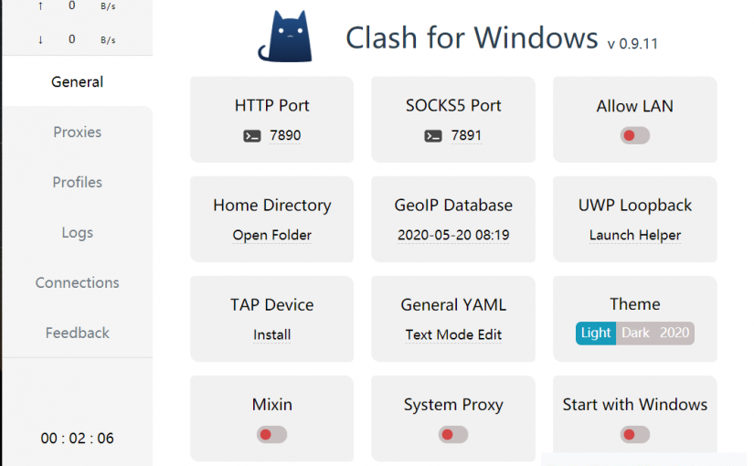Clash for Windows配置Just My Socks教程